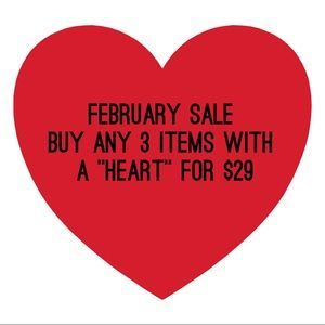 Take advantage of this February sale!!!